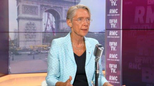 """Elisabeth Borne sur le pass sanitaire: """"il ne faut pas laisser croire aux salariés qu'il ne peut pas y avoir de licenciements"""""""