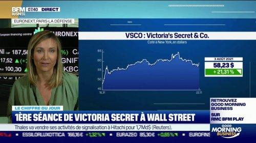 1ère séance de Victoria's Secret à Wall Street