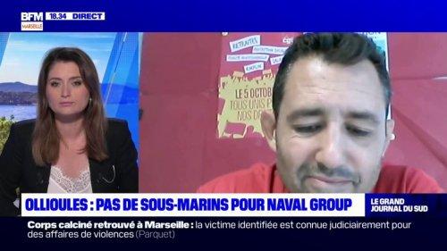 Sous-Marins: le secrétaire général de la CGT Naval Group Toulon, n'est pas surpris de la rupture du contrat