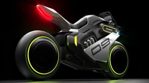 Segway dévoile l'Apex H2, une moto électrique qui carbure aux canettes d'hydrogène