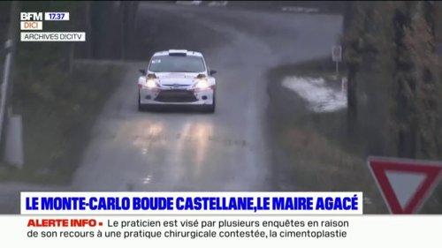 Pas de Monte-Carlo à Castellane, le maire agacé