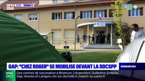 """Gap: une manifestation pour demander des solutions pour les évacués du squat """"Chez Roger"""""""