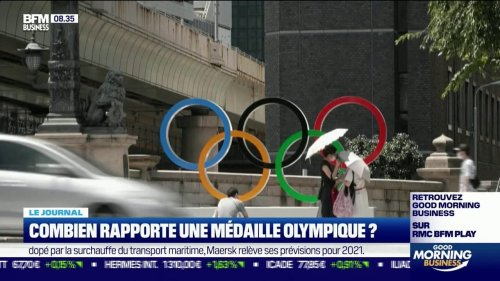 Combien rapporte une médaille olympique?