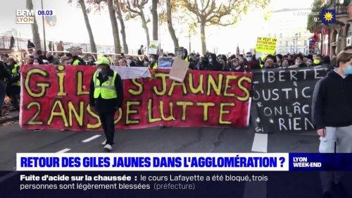 Rhône : les gilets jaunes appellent à retourner sur les ronds-points ce samedi