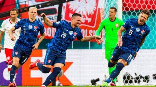 Pologne-Slovaquie: Lewandowski muet, les Slovaques créent la surprise