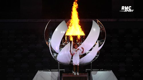 JO 2021 : Naomi Osaka allume la flamme Olympique