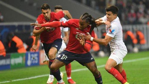 Ligue des champions: Lille déçoit contre Séville, mais reste dans le coup pour la qualification