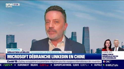 Microsoft débranche Linkedin en Chine