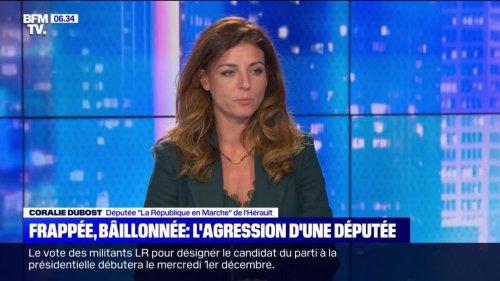 """""""Nous avons été attaqués par l'arrière, étranglés, mis au sol"""": la députée LaREM Coralie Dubost, violemment agressée à Paris, témoigne"""