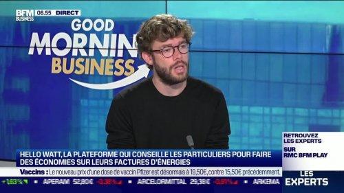 Sylvain Le Falher (Hello Watt): Hello Watt, la plateforme qui conseille les particuliers pour faire des économies sur leurs facteurs d'énergies - 02/08