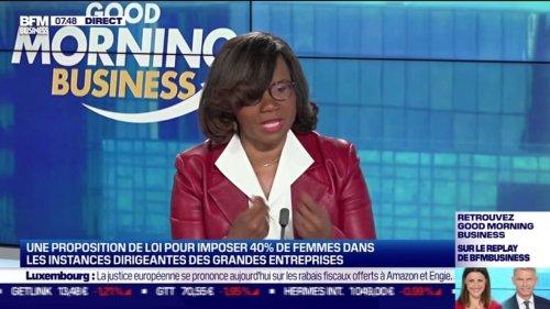 Élisabeth Moreno : Les députés veulent imposer des quotas de femmes dirigeantes - 12/05