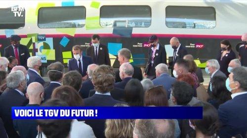 Voici le TGV du futur ! - 17/09