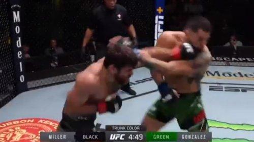 UFC: Miller éteint Gonzalez sur un énorme KO