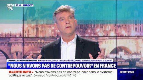 """Pour Arnaud Montebourg, """"il y a un bloc populaire à construire"""""""
