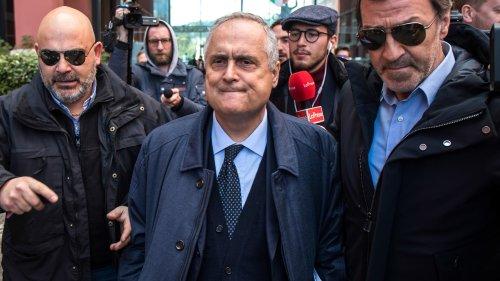 Serie A: la montée de la Salernitana n'arrange pas le président de la Lazio
