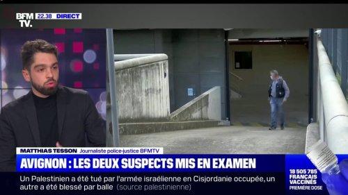 Policier tué à Avignon: les deux suspects mis en examen