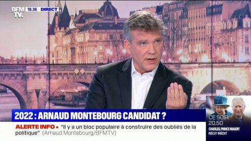 """2022: Arnaud Montebourg milite pour """"une candidature unique"""" à gauche"""