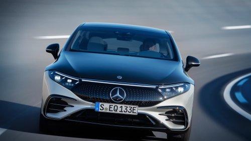 Mercedes dévoile sa nouvelle berline de luxe 100% électrique, l'EQS