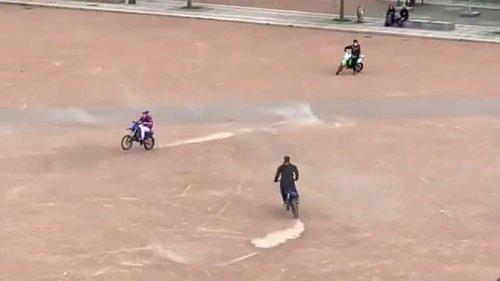 Lyon: un groupe de rap exécute un nouveau rodéo urbain dans les rues pour un clip