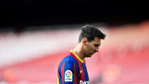 """Messi serait totalement """"abattu"""" après l'annonce de son départ du Barça"""