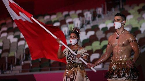 JO 2021: le Tongien Taufatofua a encore fait sensation lors de la cérémonie d'ouverture