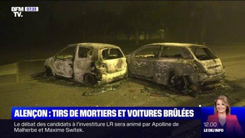 Une soirée de violences observée mardi à Alençon, dans l'Orne