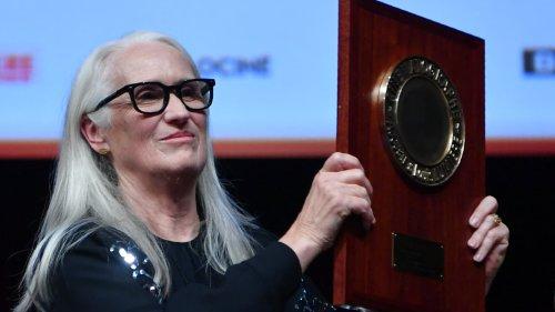 """""""Le cinéma c'est ma vie"""": la réalisatrice Jane Campion reçoit le prix Lumière à Lyon"""