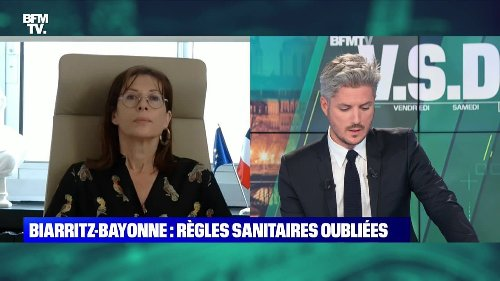 Biarritz-Bayonne: règles sanitaires oubliées - 13/06
