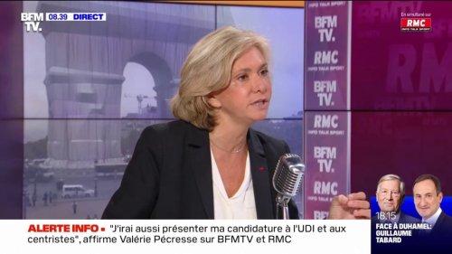 """Pour Valérie Pécresse, les propos d'Éric Zemmour sur les Juifs sous le régime de Vichy sont """"abjects"""""""