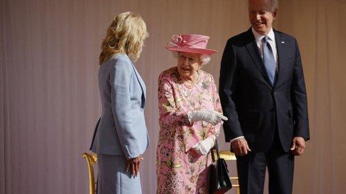 Joe Biden reçu par Elizabeth II au château de Windsor