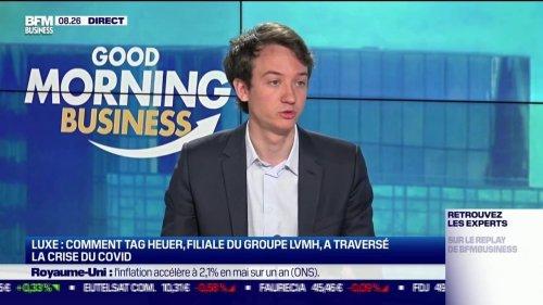 """Frédéric Arnault (PDG de TAG Heuer): pendant la crise, """"on a vu que la désirabilité des marques (de luxe) était intacte"""""""