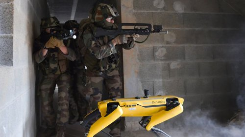 L'armée de Terre dévoile la section Vulcain, l'unité de robots qui sera opérationnelle en 2030