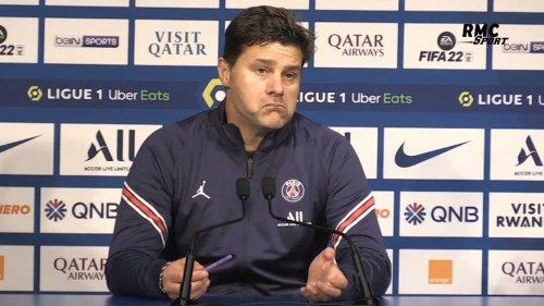 """PSG 2-1 OL : """"Le remplacement de Messi ? Je suis là pour décider"""" revendique Pochettino"""