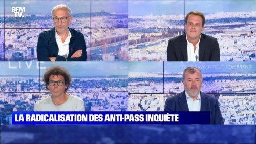 La radicalisation du mouvement anti-pass inquiète - 01/08
