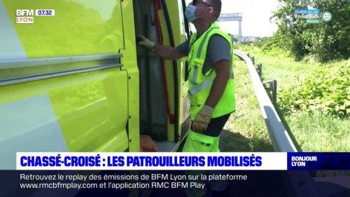 Chassé-croisé: les patrouilleurs d'autoroutes mobilisés