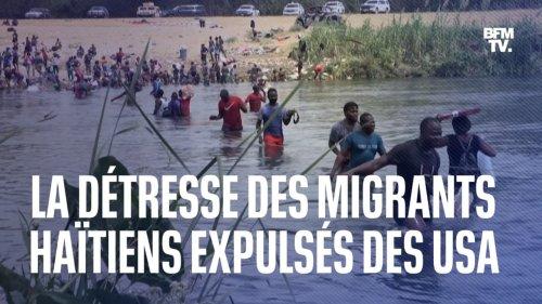 """""""Ils nous renvoient dans notre pays mais nous avons tout vendu pour venir ici"""": la détresse des migrants haïtiens expulsés des États-Unis"""