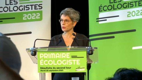 """Primaire écologiste: vaincue, Rousseau apporte son soutien à Jadot mais fustige les """"demi-mesures"""""""