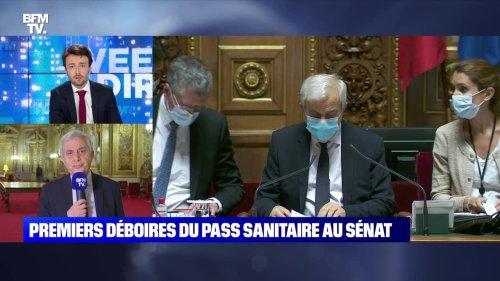 Premiers déboires du pass sanitaire au Sénat - 24/07