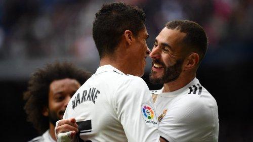 Les images des adieux très émouvants de Varane au Real Madrid