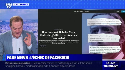 Fake news: l'échec de Facebook