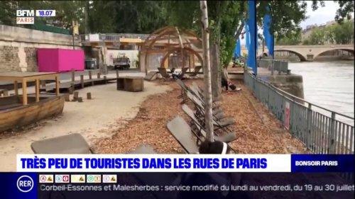 Paris: la ville désertée par les touristes