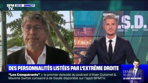 """Fichage: Éric Coquerel va """"participer à la plainte collective qui va être déposée"""" contre Fdesouche"""