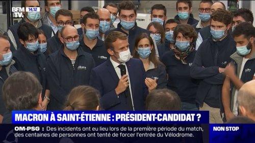 """France 2030: Emmanuel Macron annonce """"800 millions d'euros"""" pour la robotique"""