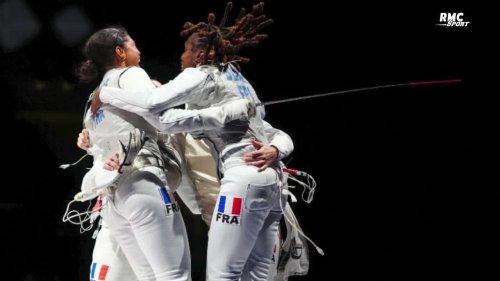 """JO 2021 (Escrime) : Clos """"surpris et impressionné"""" par la remontada des fleurettistes françaises face à l'Italie"""