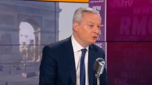 """Relocalisation d'un moteur à Douvrin: Bruno Le Maire se dit """"ravi"""" de cette décision"""