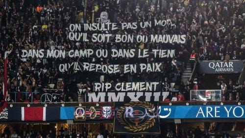 PSG: l'hommage des ultras au supporter de l'OM mort dans un accident