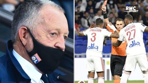 OL-Lorient : Le coup de gueule d'Aulas contre l'arbitrage et la VAR
