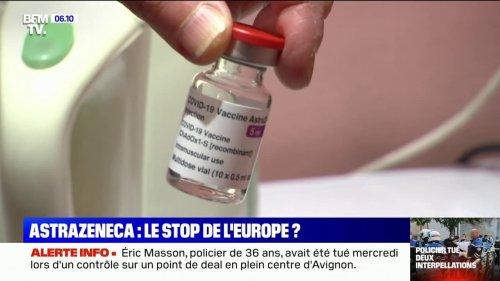 AstraZeneca: Emmanuel Macron reconnaît une plus grande efficacité d'autres vaccins face aux variants