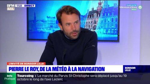 """""""Ca reste un de mes avantages"""": le navigateur Pierre Le Roy explique l'intérêt d'être météorologue lors de courses"""