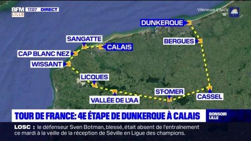 Tour de France 2022: les détails de la quatrième étape entre Dunkerque et Calais dévoilés